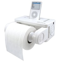 iPod Toilet Paper Holder | Quirky Birthday Gifts - Opulentitems.com