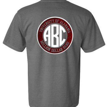 University of Alabama Million Dollar Band Monogram shirts