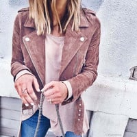 Crawford Suede Jacket