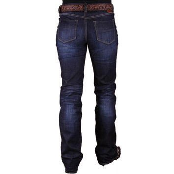 Dear John Envy Happy Day Mid Rise Curvy Bootcut Jeans