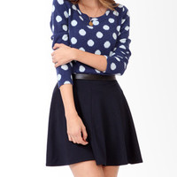 Dotted Long Sleeve Top
