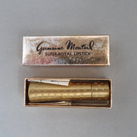 Vintage Germaine Monteil Lipstick - Venus Pink Collectible Lipstick, 1960s Makeup