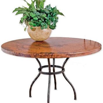 Woodland Handmade Wrought Iron Dining Table