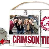 Alabama Crimson Tide Clip It Weathered Logo Photo Frame