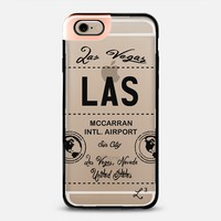 LAS - Las Vegas, NV - Travel The World iPhone 6 case by Love Lunch Liftoff | Casetify