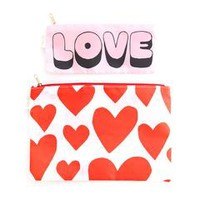 carryall duo - extreme supercute hearts / love