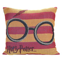 Harry Potter Glasses Woven Tapestry Pillow