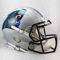 Riddell Carolina Panthers Revolution Speed Authentic Helmet (Pth Team)