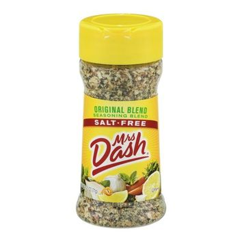 Mrs. Dash Salt-Free Seasoning Blend Original Blend, 2.5 OZ - Walmart.com