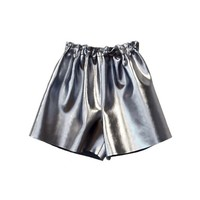Nickel Metallic Shorts