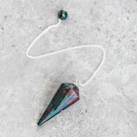Bloodstone Pendulum Ornament