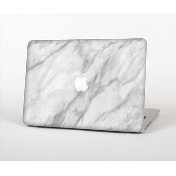 The White Marble Surface Skin Set for the Apple MacBook Pro 13""