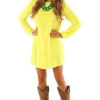 The Rose & Sunshine Dress: Yellow