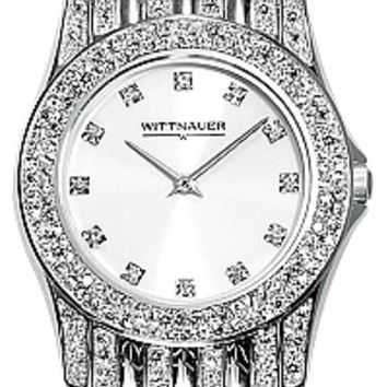 Wittnauer Krystal Collection Men's Bracelet Watch 10A04