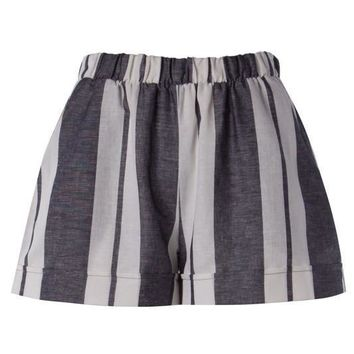 (pre-order) Charcoal Striped Shorts