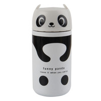 Cartoon Panda/Bear Vacuum Insulated Thermos Cup Coffee Mugs 220ml Stainless Steel Thermal Water Bottle Flask Thermocup Drinkware