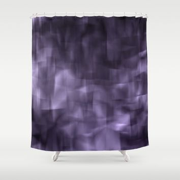 Purple abstract painting. Shower Curtain by VanessaGF