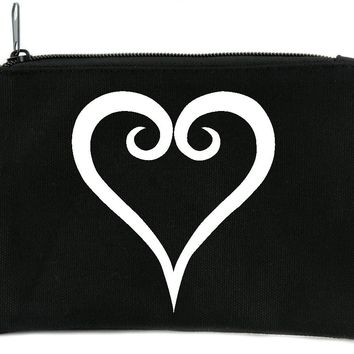Kingdom Hearts Cosmetic Makeup Bag Alternative Anime Gamer Accessories