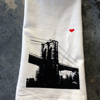 Brooklyn Lover's Tea Towel