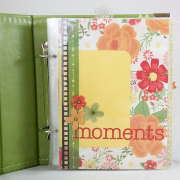 Moments Scrapbook Album