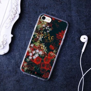 Floral Case for iPhone 7/ iPhone 8