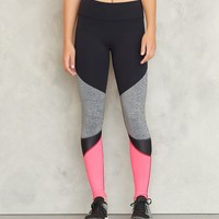 Activewear Collection- Athletic Legging With Mesh