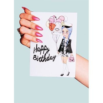 Happy Birthday Darling Greeting Card