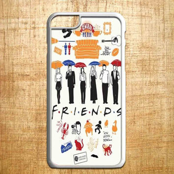 Friends TV Show collage for iphone 4/4s/5/5s/5c/6/6+, Samsung S3/S4/S5/S6, iPad 2/3/4/Air/Mini, iPod 4/5, Samsung Note 3/4, HTC One, Nexus Case*PS*