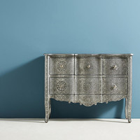Hand-Embossed Four-Drawer Dresser