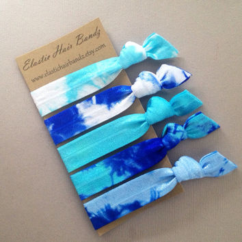 The Emery Collection Hair Ties OR Headbands You Choose - by Elastic Hair Bandz on Etsy