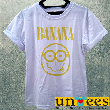 Low Price Women's Adult T-Shirt - Nirvana Banana design