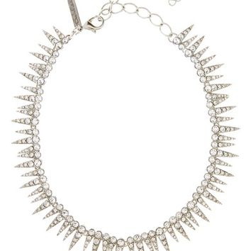 Oscar de la Renta Crystal Sea Urchin Necklace | Nordstrom