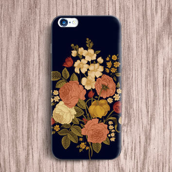 Floral iPhone 6 Case iPhone 6 Plus case iphone 5s Case iphone 6S Case 6S PLUS Samsung Galaxy S5 Case S4 mini Case Note 5 case LG G4 Case