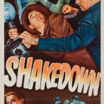 "Shakedown Poster Movie Poster Insert 14""X36"""