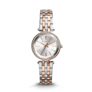 DCCKWA2 Michael Kors Women's Darci Two-Tone Petite Watch