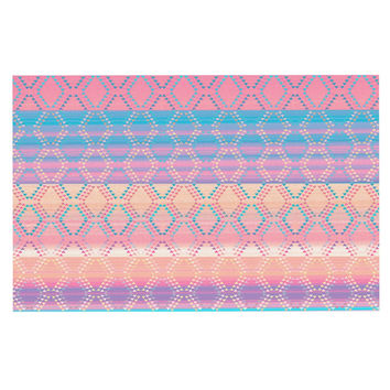 "Nina May ""Denin & Diam New Mexico"" Pastel Decorative Door Mat"