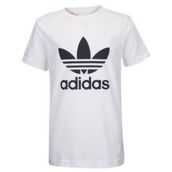 adidas Originals Trefoil Logo T-Shirt - Boys' Grade School at Kids Foot Locker