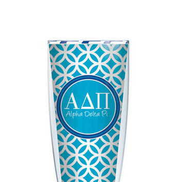 Alpha Delta Pi Tumbler -- Customize with your monogram or name!