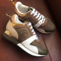 LV Louis Vuitton Fashion Woman Casual Sneakers Shoes I