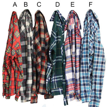 You Pick: Distressed Vintage Flannels Size Small