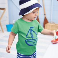 Sea T-Shirt Pants Set 2pc