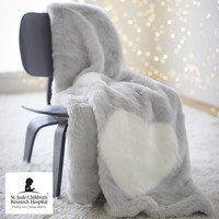 St. Jude Faux-Fur Throw