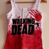 TWD The walking dead top t-shirt
