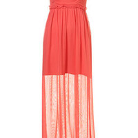 Gathered Empire Maxi Dress - Maxi & Midi Dresses - Dresses  - Clothing - Topshop