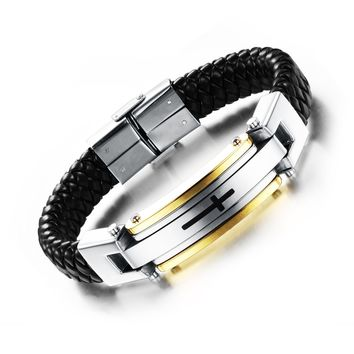 Shiny Jewelry New Arrival Stylish Stainless Steel Fashion Classics Innovative Ring Bangle [10783261955]