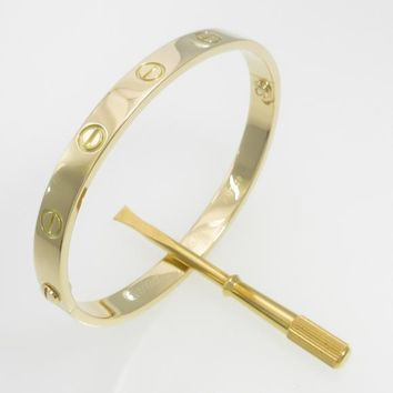 Authentic Cartier Love bracelet #260-002-229-9000