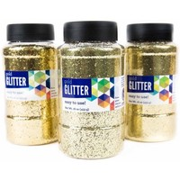 Horizon Group USA Gold Glitter 16 oz., 3pk - Walmart.com