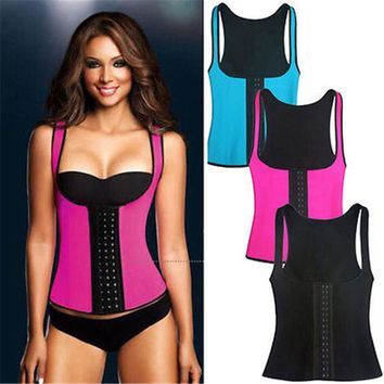 HOT 4COLORS slimming redu thermo cami hot slim belt Neoprene shaper Vest Tank Sweat Both Side Wearable