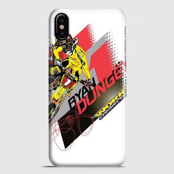 Ryan Dungey 5 Ktm Motocross Fox Team iPhone X Case