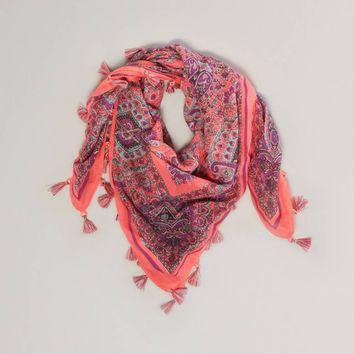 AEO Paisley Square Scarf | American Eagle Outfitters